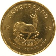 South Africa - Krugerrand 1978 - 1 oz gold
