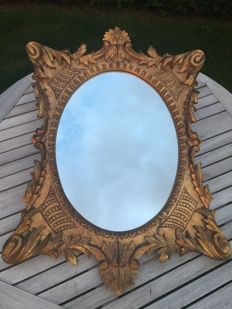 Old Classic Italian Style Mirror from the early 19th century