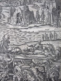 Print from the first English translation of Orlando furioso by Sir John Harington