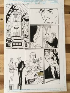 Original Art Page By Rod Whigham - Marvel Comics - Men in Black: Alien in New York #4 - Page 10 - (1997)