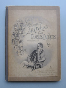 "The characters of Charles Dickens pourtrayed in a series of original water colour sketches by ""Kyd"" - c. 1890"