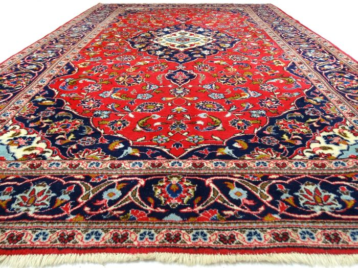 SC150 Keshan - 297 x 201 cm - Persian rug in beautiful condition - with certificate