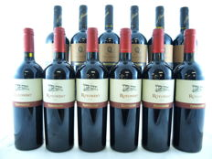 1999 Don Anselmo Paternoster x 6 & 2001 Rotondo Paternoster x 6 - 12 bottles (75cl) total