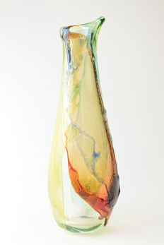 "Michele Onesto (Oball) - Multicoloured ""Sbruffi"" vase"