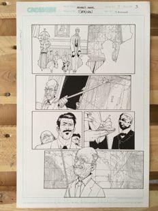 Original Art Page By Steve McNiven And T. Simmons - CrossGen Comics - Archard's Agents #3 - Page 3 - (2004)