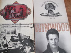 Nice Lot with 8 Albums of Blind Faith, Traffic & Steve Winwood Solo