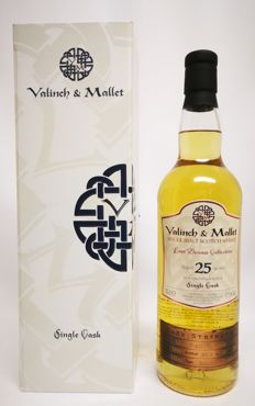 "25 years Glen Grant (Single Cask no. 152xx)  ""Lost Dram Collection""  from Valinch & Mallet - no 45 of 196 bottles, 57.5% abv."