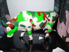 Cow Parade - Cowparade - Fatigues - Medium - Resin
