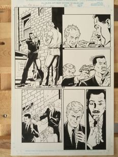 Original Art Page By Rod Whigham - Marvel Comics - Men in Black: Alien in New York - Page 18 - (1997)