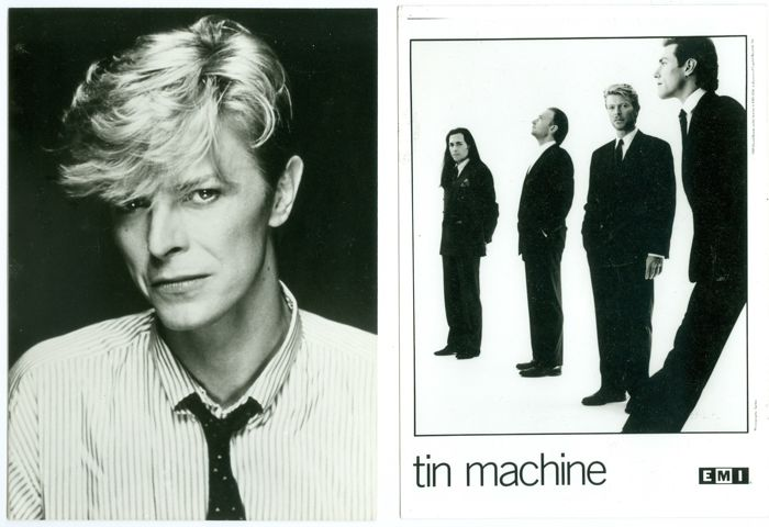 Masayoshi Sukita/unknown - David Bowie / Tin Machine - 1982/1989