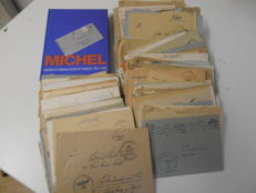 German Emprie 1940/1944 - Batch of 405 military post letters, post cards without contents with Michel-catalogue Deutsche Feldpost