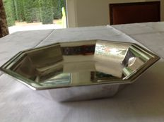 Heavily silver plated bread tray by Zilverfabriek Schoonhoven