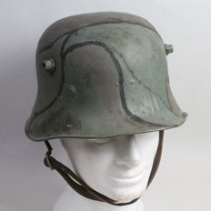 Irish Helmet 1927 model lightened version of the German 1916 model
