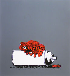 Alex Zanda - Frog on a spray can