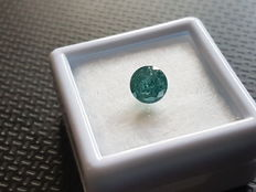 0.91 ct Vivid Blueish Green I2 ** low reserve price **