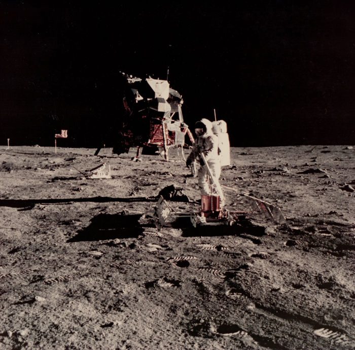 NASA - Apollo 11 - Buzz Aldrin on lunar surface - 1969