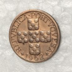 Portugal Republic – XX Centavos 1952