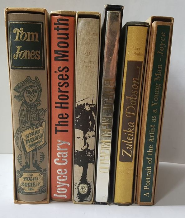 Folio Society; Lot with 6 literary works  - 1966 / 1981