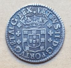 Portugal – 6 Vinténs 120 Réis - Pedro II . Above Average