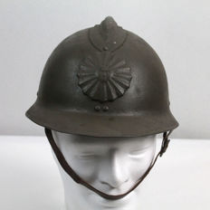 Peruvian military helmet model 34