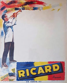 Anonymous-Ricard (trumpet player) - ca. 1950.