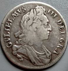 United Kingdom - Crown - 1695 - King William lll - silver