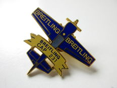 Original Breitling Swiss Navigation coat pin