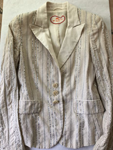 Etro Milano - linen jacket with sequins