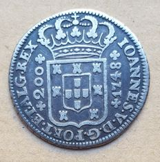 Portugal – 12 Vinténs 240 Réis – 1748 – D. João V . Above Average