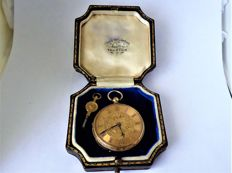 key wind  pocket watch 1862 g {ref no 288}