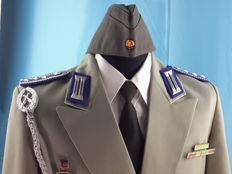 Germany - Original Gala Jacket Polizei (VOPO) - Sargeant Major