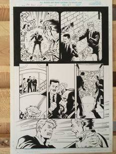 Original Art Page By Rod Whigham - Marvel Comics - Men in Black: Alien in New York - Page 21 - (1997)