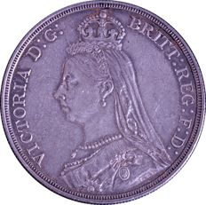 United Kingdom - Crown - 1887 - Victoria - silver
