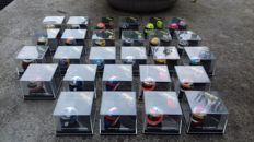 Onyx - Scale 1/12 - Lot with 27 x Formula 1 Driver Helmets
