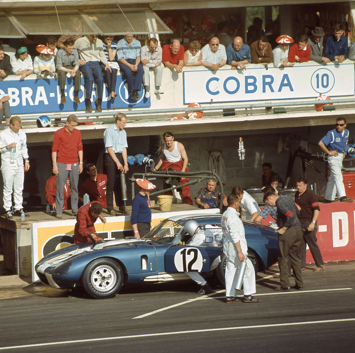 photograph - Shelby Daytona Cobra Bob Johnson 1965 Le mans 24 h - 2016 (1 items)