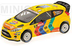 Minichamps - Scale 1/18 - Ford Fiesta WRC Stobart #15 - Limited 1002 pcs. - Wales Rally GB 2011 - Drivers: Solberg / Minor