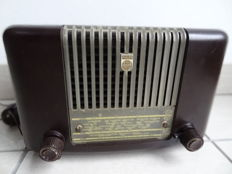 Rare Philips Philetta 42 tube radio from the 50s - functional - TOP condition - collector's item