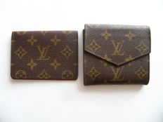 Louis Vuitton bi-sided tri-fold wallet & Louis Vuitton ID-holder -*No Reserve Price*