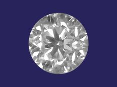 Diamond, brilliant cut, 0.50 ct, D/VS2 (ref.: #0217-102)