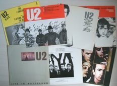 U2 - Lot of 6 maxi singles + double album
