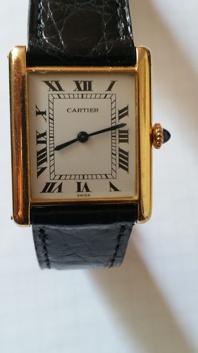 Cartier Tank – wristwatch - 1990