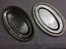 2 French Silver Dishes