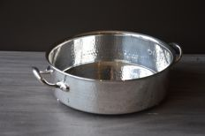 Silver plated bowl - Christian Dior - Italy - 2nd half of the 20th century