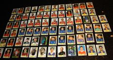 Panini - UEFA Euro 2000 Belgium / The Netherlands - 74 original stickers - Backs in various colours