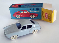 CIJ-France - Scale 1/43 - Alpine Renault Mille Miles light grey (without windows) Ref.3/50