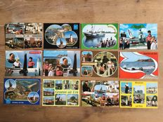 Netherlands, Urk More than 500 postcards Firm Wakker all in colour