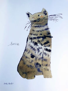 Andy Warhol (after) - Cat Sam - 2000