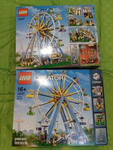 Creator - 10247 - Ferris Wheel  2 pieces