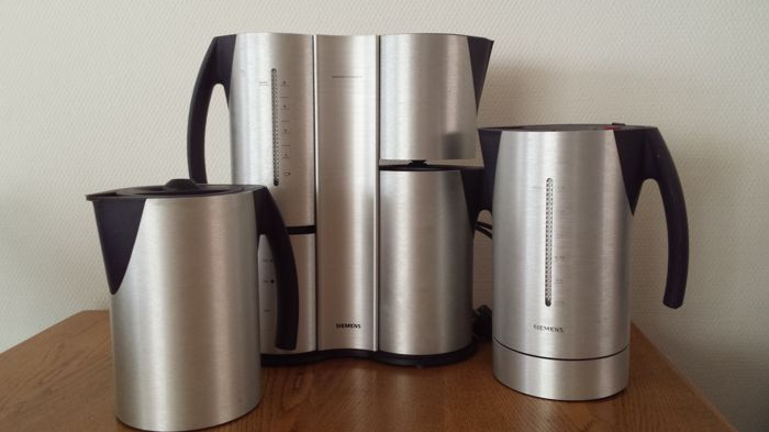 Porsche design coffee maker and water kettle with extra thermos - Catawiki