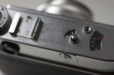 WORKING !!! kodak retina III AUTOMATIC  mint-